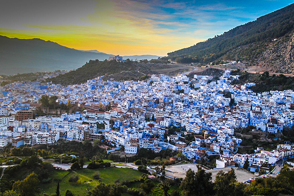 TOUR FROM CASABLANCA TO CHEFCHAOUEN